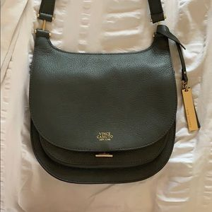 Authentic Vince Camuto Army Crossbody purse